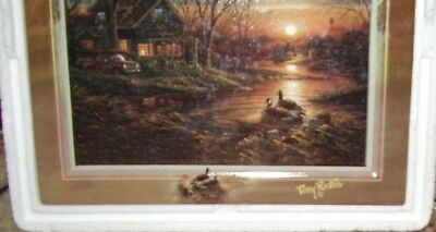 Terry Redlin Twilight Serenity 1st Issue in Tranquil Retreats LE Bradford Exch