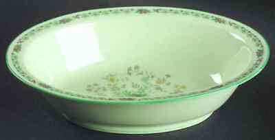 "Noritake PARADISE-GREEN 10 1/8"" Oval Vegetable Bowl 457664"