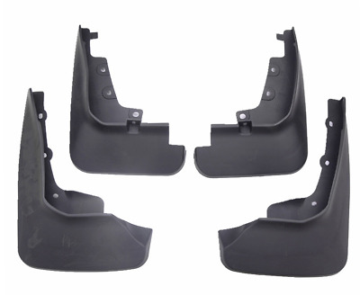Black Rear Plastic Driver Side Mud Flap For Land Cruiser 08-13