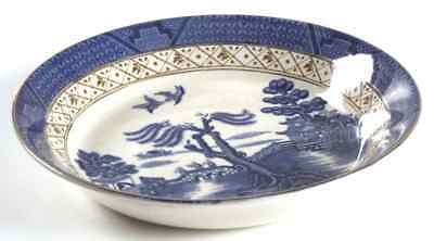 Booths REAL OLD WILLOW BLUE Soup Bowl 5936907