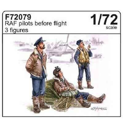 CMK F72079 WWII RAF Pilots Before Flight Resin Figuren in 1:72