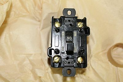 NOS Arrow Hart Load Limit Switch 28203-U 2 Pole AC Single Phase or DC