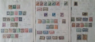 Lot of Hungary Old Stamps Used/MH