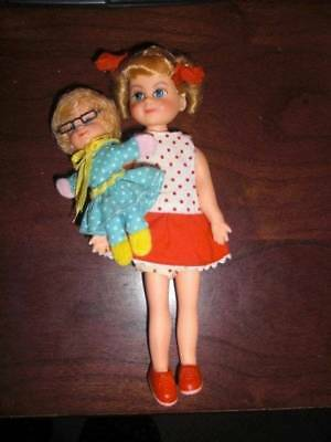 "Mattel ~ Vintage 1967 6"" Buffy & Mrs. Beasley Doll of Family Affair #2"