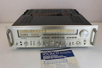 Rotel RX-1603 Monster Stereo Receiver serviced & aligned  ***excellent*** manual