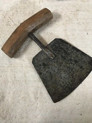 18th Century Hand Forged Unusual shaped Herb Chopper 1700's