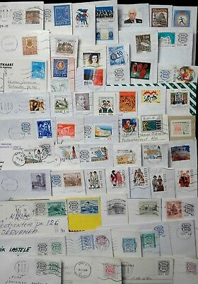 Estonia: Stamps Collection On Letters 1993-2000