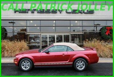 2005 Ford Mustang TAN 2005 TAN Used 4L V6 12V Automatic RWD Convertible Leather Seats One Owner No ACC