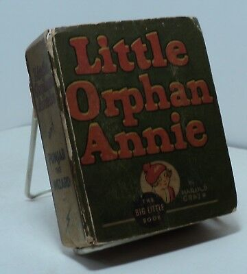 Little Orphan Annie and Punjab the Wizard - Big Little Book # 1162