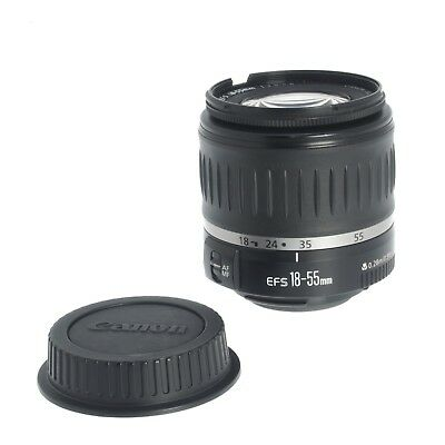 Canon EF-S 18-55MM F3.5-5.6 Wide Angle Zoom Lens for Canon DSLR Cameras