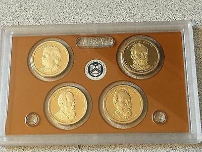 2011 S Proof Presidential Dollar Set no Box or COA