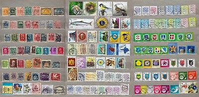 ESTONIA: STAMPS COLLECTION FROM #1 stamp 1918 to 2017,USED - 150 DIFFERENT!