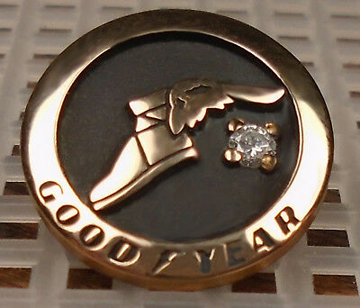 Goodyear Tire 25-Year employee service award recognition pin (new style)