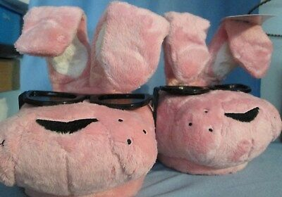 ENERGIZER BUNNY SLIPPERS BRAND NEW with Tag  PLUSH L/XL UNISEX