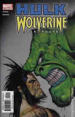 Hulk Wolverine Six Hours #2 2003 VF Stock Image