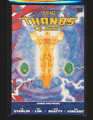 Thanos Quest # 2 First Print - Jim Starlin cover & story VF/NM Cond.