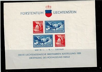LIECHTENSTEIN Block 2 **