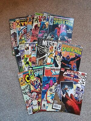 20x Marvel Comic Books, Wholesale Job Lot Modern/bronze Age, GRAB BAG BARGAIN!