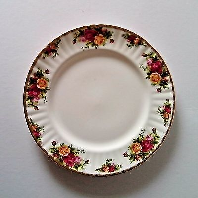 4  Royal Albert ' Old Country Roses' design  Bone China  Side Plate 8 inch