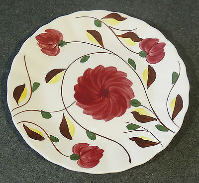 Blue Ridge Southern Potteries Laura Chrysanthemum Salad Plate Scallop Edge
