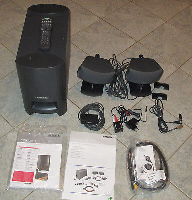 Bose Cinemate Digital Home Theater Speaker System Mit System Fernbedienung
