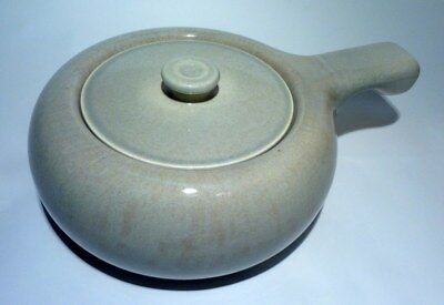 Russel Wright Steubenville American Modern Gray Handled Covered Casserole / Soup