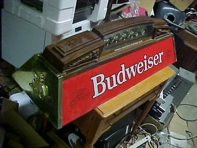 Vintage Budweiser Clydesdale Pool Table Overhead Light