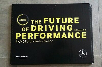 Mercedes AMG Kalender 2018 OVP & neu Future of Driving Performance Project ONE