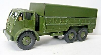 DINKY TOY #622 Foden Army 10-Ton Truck Excellent Condition