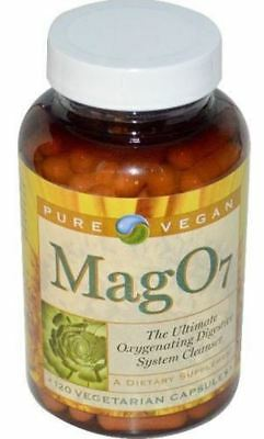 Mag O7 Mag07 120 Caps Oxygen Colon Cleanser IBS Detox Digestive Supplement