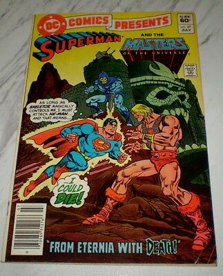 DC Comics Presents #47 FN 6.0 Unrestored 1982 Masters of the Universe 1st He-Man