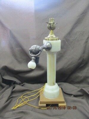 Rare 1900's Marble Lighted Soda Fountain Tap