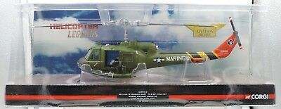 1:48th Scale Corgi Bell UH-1 USMC Helicopter #AA50413, NIB tnr gb