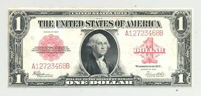 $1 Series 1923 United States Note high grade with New England trim