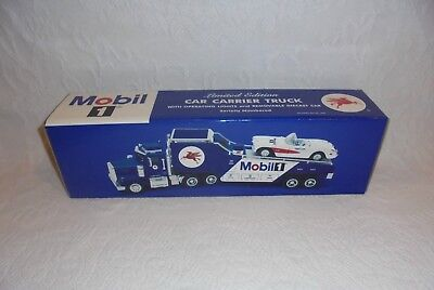 2000 Taylor Limited Credit Card Promo Mobil 1 Car Carrier Toy Truck Corvette