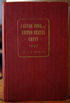 Guide Book of United States Coins R.S. Yeoman 1947 1st Edition 2nd Printing RED