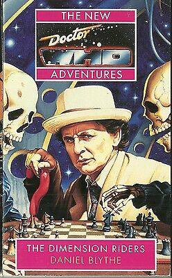 OOP Paperback Book - DOCTOR WHO - DIMENSION RIDERS  Daniel Blythe - Virgin Books
