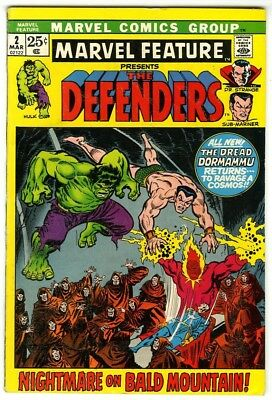 Marvel Feature Defenders #2 (1972) F/VF Marvel Comics