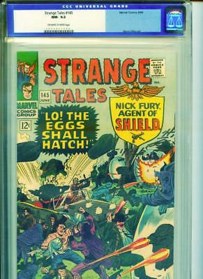 Strange Tales #145 CGC 9.2 OW/White Pages OLD LABEL