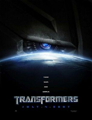 TRANSFORMERS great original D/S 27x40 movie poster 2007