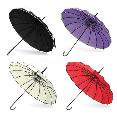 4 Colors Pagoda Parasol Wind-proof /Waterproof Umbrella Wedding Bride Parasol