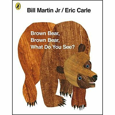 Brown Bear, Brown Bear, What Do You See? - Paperback NEW Carle, Eric 2007-10-25
