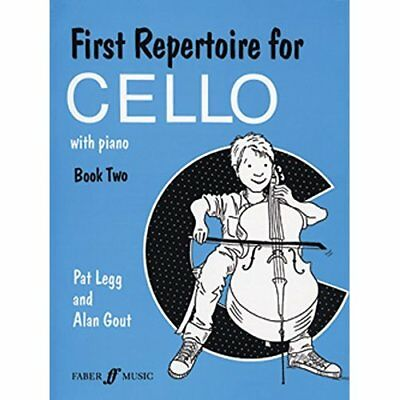 First Repertoire for Cello: Bk. 2 - Paperback NEW Legg, Pat 2005-10-27