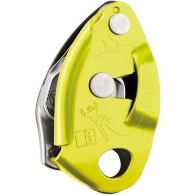 Petzl Grigri 2 Unisex Climbing Gear Belay Device - Yellow One Size