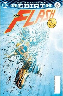 Flash #21 Lenticular Cover First Print