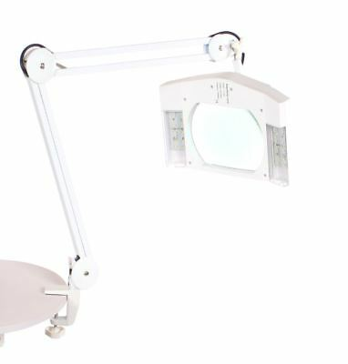 Urbanity LED Desk Table Top 5 X Magnifying Glass Beauty Nail Salon Lamp Light W