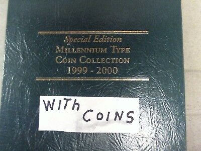 1999 - 2000 U.s.  Millennium Type Coin Collection