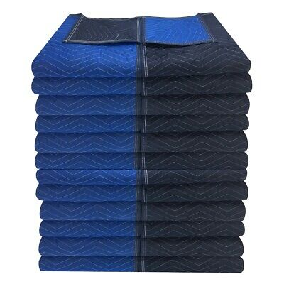 "uBoxes 24 Supreme Quality Moving Blankets 72""x80""  85lbs/doz."
