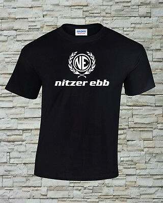 Nitzer Ebb Printed T-Shirt Size, Print and Color Choice