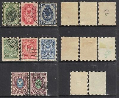 Finland 1901-1916 small selection.
